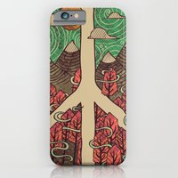landscape iPhone & iPod Cases featuring Peaceful Landscape by Hector Mansilla