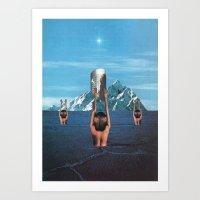 The Worshippers - Thom E… Art Print