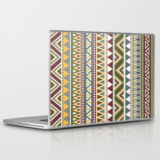 Aztec Laptop & iPad Skin