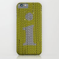 iPhone & iPod Case featuring Winter clothes. Letter i. by Studio Caravan
