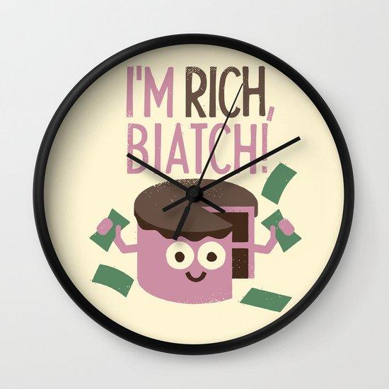 Sweet Success Wall Clock