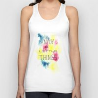 Enjoy The Little Things Unisex Tank Top