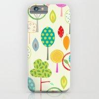 Trees Pattern Print iPhone 6 Slim Case