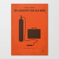 No253 My No Country For … Canvas Print