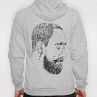yves's beard Hoody