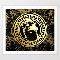 Versace Shades Art Print