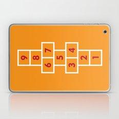 Hopscotch Orange Laptop & iPad Skin
