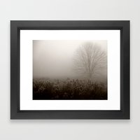 Falls first frost Framed Art Print
