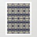 Headhunter pattern Art Print