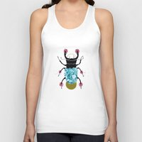 stag beetle  Unisex Tank Top