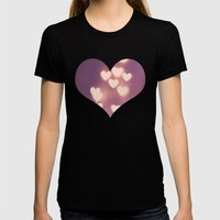 Your Love Is Electrifyin… Womens Fitted Tee Black SMALL
