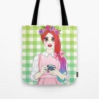 Pretty as a Picture Tote Bag