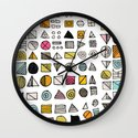 HIEROGLYPHS  Wall Clock
