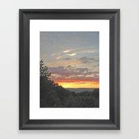 Another Cantonian Sunset Framed Art Print