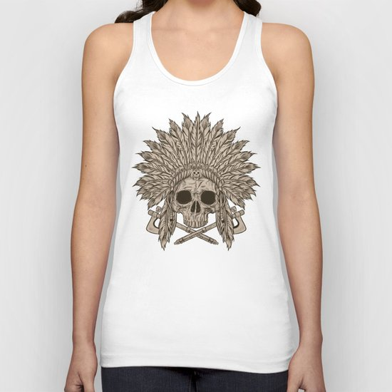 The Dead Chief Unisex Tank Top
