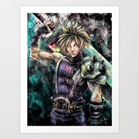 Hero of the Lifestream Art Print