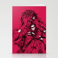 STRESSED-OUT Stationery Cards