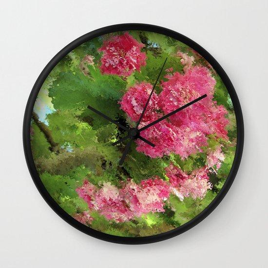 Romance á la Provence Wall Clock