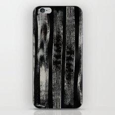 Black Brush 002 iPhone & iPod Skin