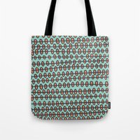 Coral Pebbles Tote Bag