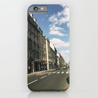 iPhone & iPod Case featuring Sunny Day in Le Marais by istillshootfilm