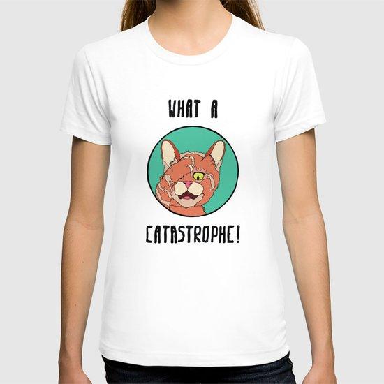 Catastrophe Cat T-shirt