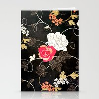 VINTAGE FLOWERS VII - for iphone Stationery Cards