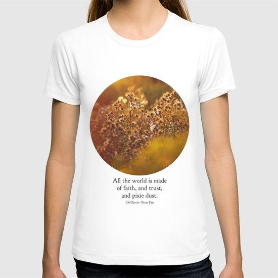 pixie dust - peter pan T-shirt