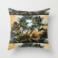 The Battlefield Throw Pillow