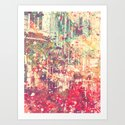 Street of London1 Art Print