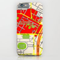 Map Design Of The Univer… iPhone 6 Slim Case