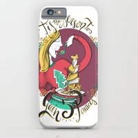 iPhone & iPod Case featuring Tis the Season to Gain 5 Pounds by Tiny Pencil Studio: Illustration & Desig