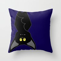 Hangin' Out Throw Pillow