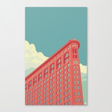 Flatiron Building NYC Canvas Print