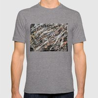 Copper Ore Mens Fitted Tee Tri-Grey SMALL