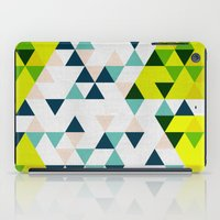 Triangles 1 iPad Case