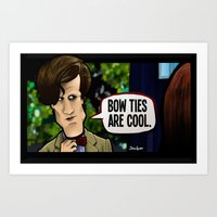 Bow Ties Are Cool. Art Print