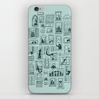 I've Seen Strange Things in City Windows iPhone & iPod Skin