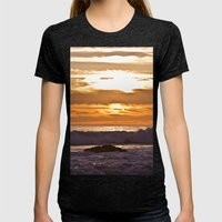 El Matador Sunset, 2011 Womens Fitted Tee Tri-Black SMALL