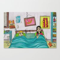 Bunk Buddies Canvas Print