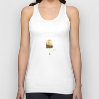 T is for Tea. Unisex Tank Top