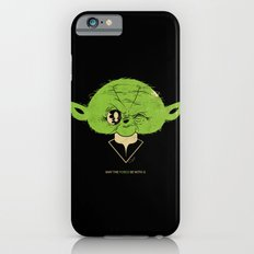 StarWars May the Force be with you (green vers.) iPhone 6 Slim Case