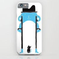 iPhone & iPod Case featuring Mr Blue Boy by Denis Carrier