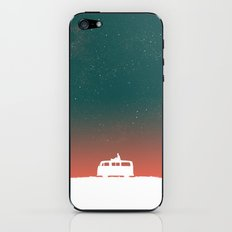 Quiet Night - starry sky iPhone & iPod Skin