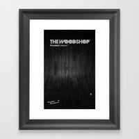 Back Ebony Framed Art Print