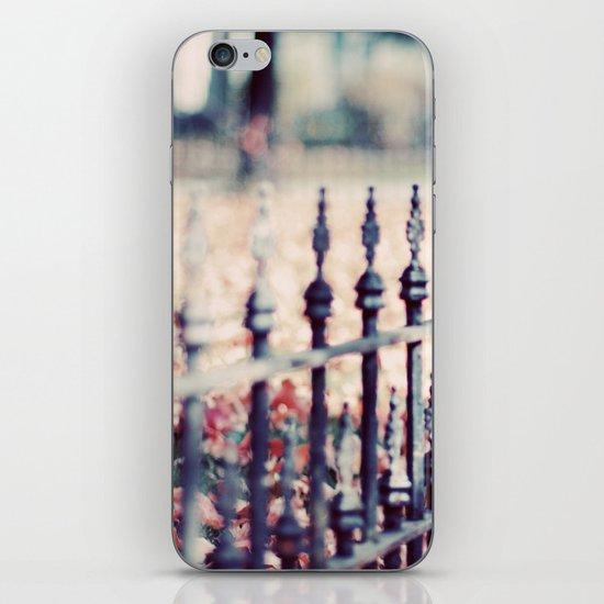 Autumn Fence iPhone & iPod Skin