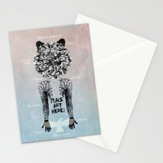 DeadBird FoxMan. Stationery Cards