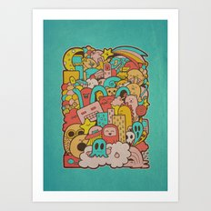 Doodleicious Art Print