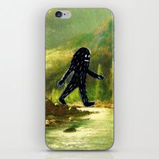 Sasquatch iPhone & iPod Skin