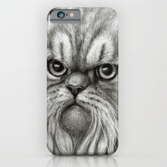 Persian Cat SK072 iPhone & iPod Case